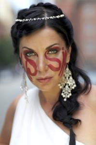 Ирина Дмитракова приняла участие в рекламной кампании Salamatina Gallery, посвященного Олимпиаде в Сочи