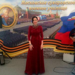 Ирина Дмитракова приняла участие в 66-ом выпуске Московского Суворовского училища