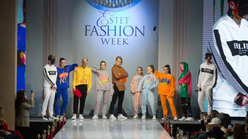 8 апреля 2021/В рамках недели моды Estet Fashion Week Ирина и Екатерина Дмитракова показали коллекцию одежды ASPIRIN